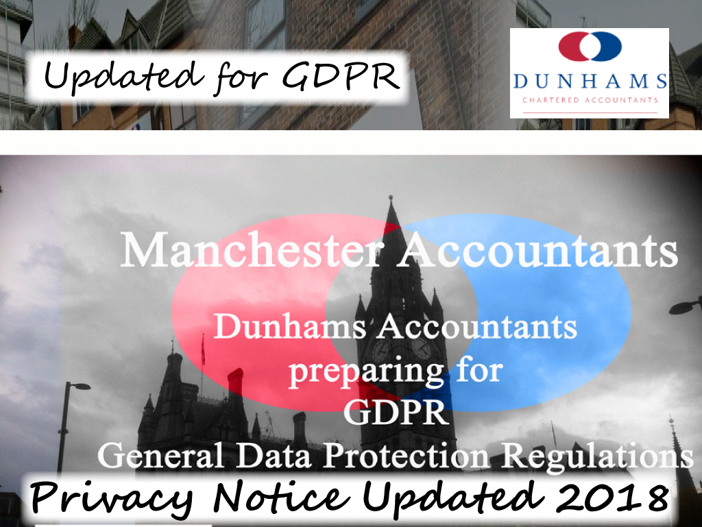 Dunhams Updated Privacy Notice