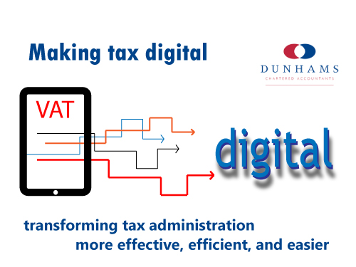 Making Tax Digital supported by Dunhams Accountants