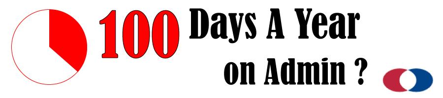 100 days a year on admin - Dunhams Accountants Cloud Accounting Solutions.