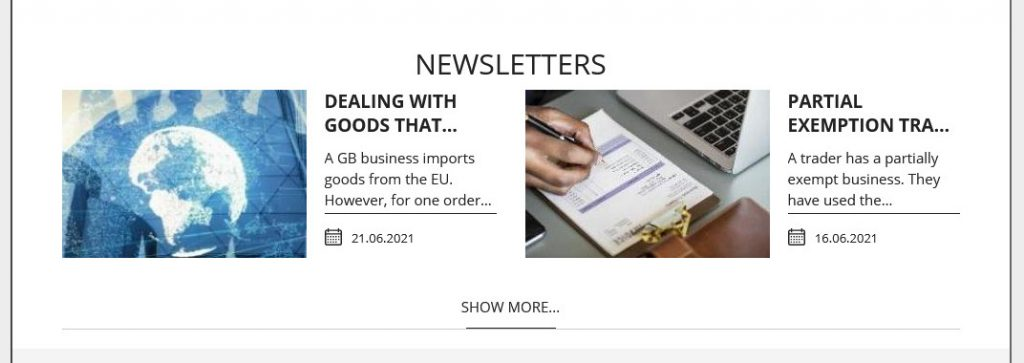 Newsletters from Dunhams Accountants and Financial Services